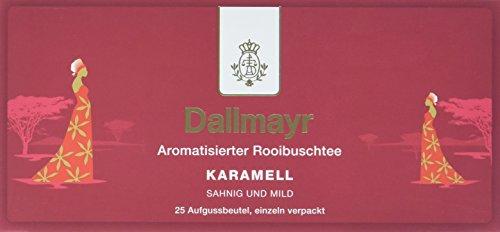 Dallmayr Tee Aufgussbeutel - Rooibuschtee Karamell, 2er Pack (2 x 43,75 g)