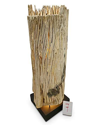 Kinaree Lámpara de pie con forma de tronco de árbol BAN MEO – Lámpara de pie LED de 106 cm