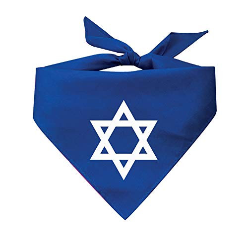 Jewish Star Dog Bandana (Assorted Colors) Rosh Hashanah Yom Kippur Hanukkah Passover