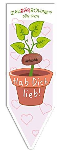 BärenBande ZauBÄRbohne Hab Dich lieb, Magic Bean, Magische Bohne, Magic Plant, Zauberbohne