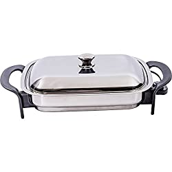 10 Best Electric Skillet Stainless Steels