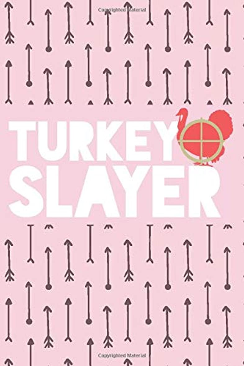 "品揃え卵不条理Turkey Slayer: Turkey Hunting Log Book for Her – Hunting Journal – Notebook for Turkey Hunter – Hunting Diary - 15.2cm x 22.9cm (6"" x 9"") - 100 Pages – Record your hunts"