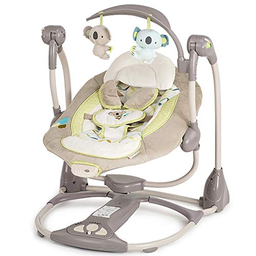 For Sale! LNLN Baby Bouncer, Newborn Gift Multi-Function Music Electric Swing Chair, Baby Rocking Ch...