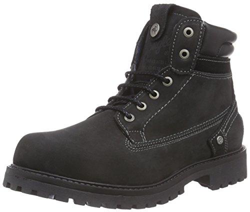 Wrangler Herren Yuma Creek Combat Boots, Schwarz (62 Black), 45 EU