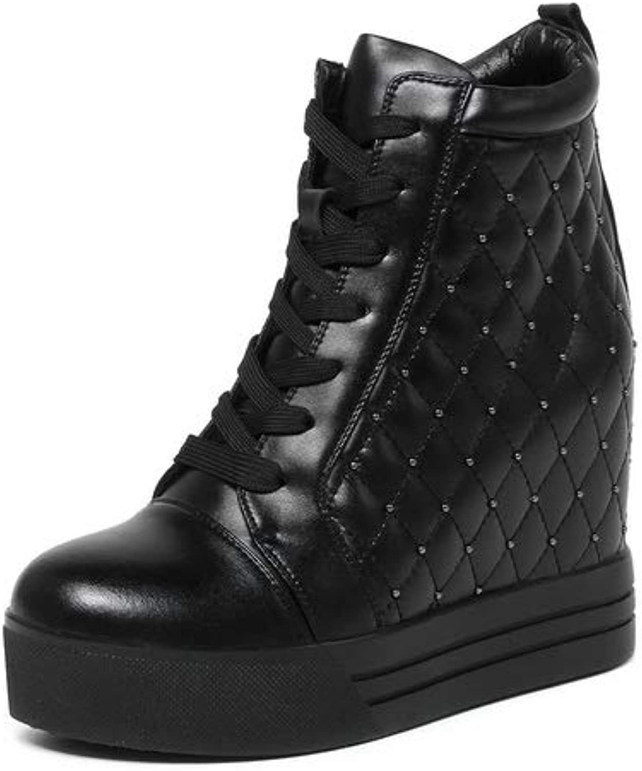 1TO9 Womens Hounds-Tooth Platform Mule Urethane Boots MNH03636