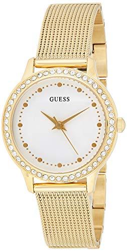 Guess Reloj analogico para Mujer de Cuarzo con Correa en Acero Inoxidable W0647L7