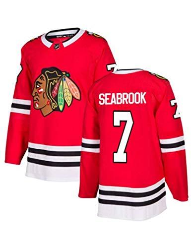 SUSIE Seabrook # 7 Chicago Blackhawks Hockey Jersey LHN Jerseys de Hielo para Hombres Ropa Sudaderas Mujer Camiseta Transpirable