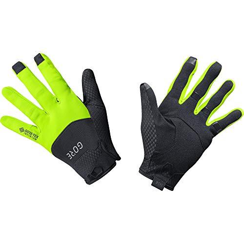 GORE C5 Handschuhe GORE-TEX INFINIUM, 10, Schwarz/Neon-Gelb