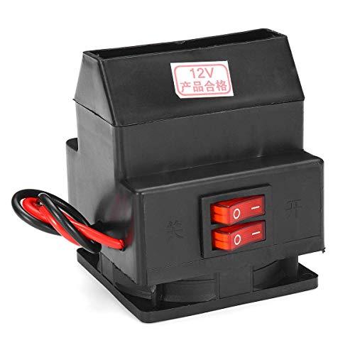 Fried Práctico El Calentador del Ventilador del automóvil 260W Cumple con la Temperatura de Salida de los automóviles de 12V o 24V de vehículos hasta 70 (Color: 24) Detectar (Color : 24)
