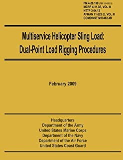 Multiservice Helicopter Sling Load: Dual-Point Load Rigging Procedures: Field Manual 4-20.199 (FM 10-450-5), MCRP 4-11.3E, Vol. III, NTTP 3-04.13, AFMAN 11-223 (i), Vol. III, COMDINST M13482.4B