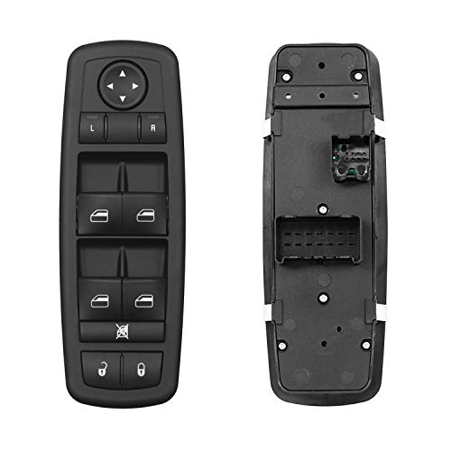 Master Power Window Switch Front Left Driver Side | 3 PINS + 0 PIN | Replacement for 2008-2009 Chrysler Town & Country Dodge Grand Caravan | Replaces# 4602535AG, 4602535AF, 4602535AC, 901-401R