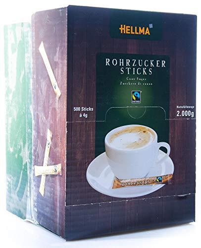 FAIRTRADE Rohrzucker-Sticks - 500 Stück