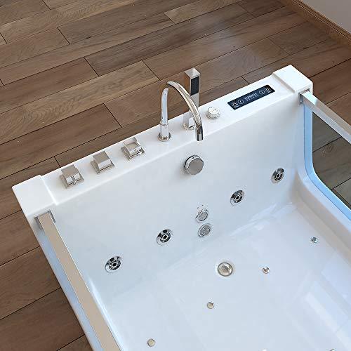 Home Deluxe Atlantic XL Whirlpool, inkl. komplettem Zubehör - 8