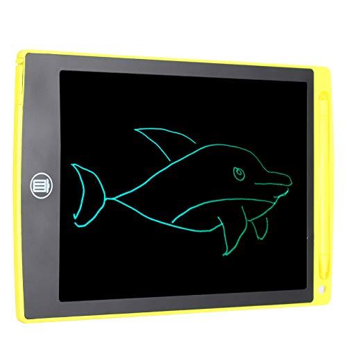 Cosiki Tabla de Dibujo, Tableta de Escritura a Mano, LCD + función de borrado de una tecla de plástico Durable para Dibujar en el Aula Regalo para niños