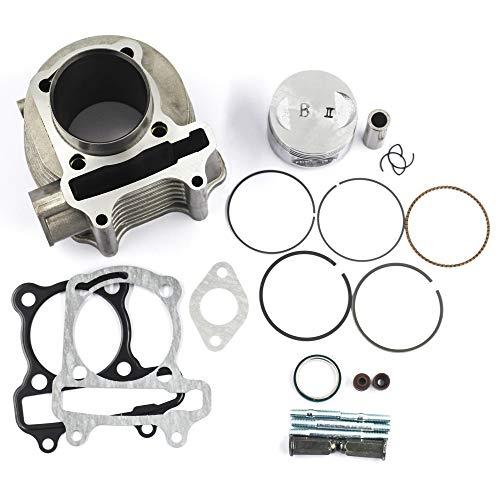 GOOFIT Complete Cylinder Gasket Set for Baja Redcat Panterra 50cc Horizontal Engine ATV Scooter