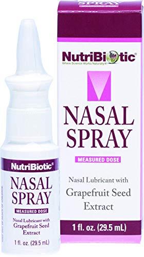 NutriBiotic, Nasenspray mit Grapefruitsamenextrakt , 1 fl oz (29,5ml)