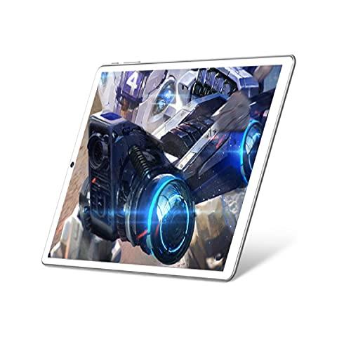LXMTing Tableta de 10', Tabletas Android 9.0 Pie Tablets, 8GB RAM y 128 Tarjeta SIMAGEGEGETE SIM TARJETE PROYECTOR DE CADORA, Pantalla IPS HD, 5G Wi-Fi, Cámara Dual, FM, GPS