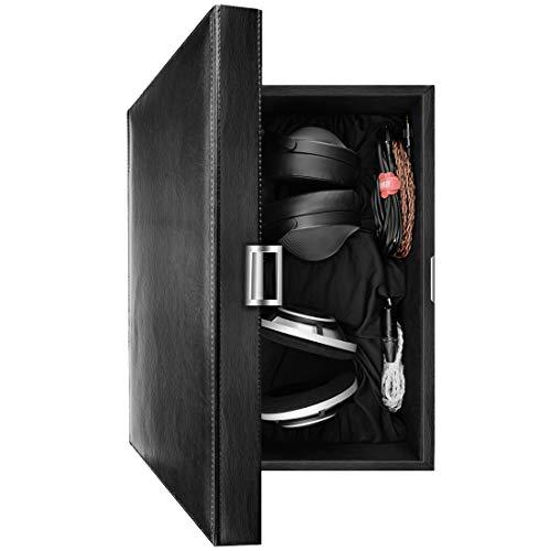 Geekria Tasche Kopfhörer für HD820, HD800, HiFiMAN Ananda, Fostex TH-500RP, TH900, JVC HA-SZ2000, High-Grade Large Headset, Hard Tragetasche, Schutztasche