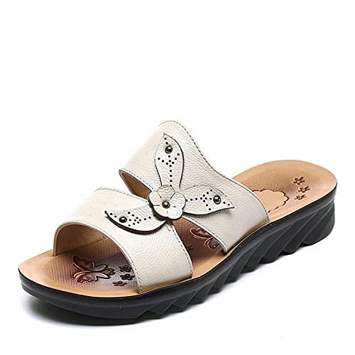 Kirin-1 Zapatillas De Casa para Mujer Verano,Zapatillas De Novia,Zapatillas De Fondo Suave...