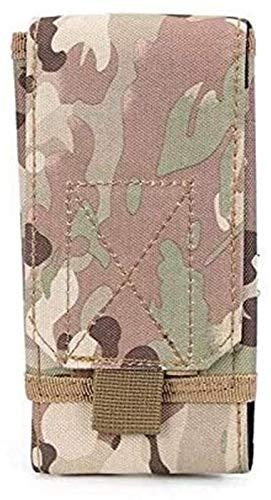 GZA Estuches Y Fundas para iPhone X XS MAX XR, Caja De Bolsa De Ejército Táctico Militar De Boucho, Funda De Cinturón De La Cintura De La Cartera para iPhone 5 5S SE 6 6S 7 8 Plus