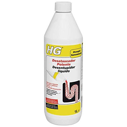 HG 139100130 Potente 1 L-el desatascador de Fregadero Que desatasca en 30 Minutos