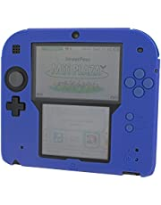 ZedLabz soft silicone gel protective cover rubber bumper case for Nintendo 2DS (Blue) [Importación Inglesa]