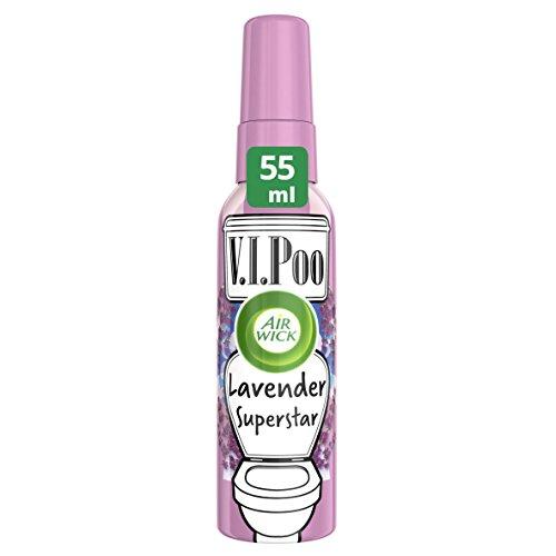 Air Wick VIPoo Lavender Superstar - Spray  con olor a lavanda, 55 ml