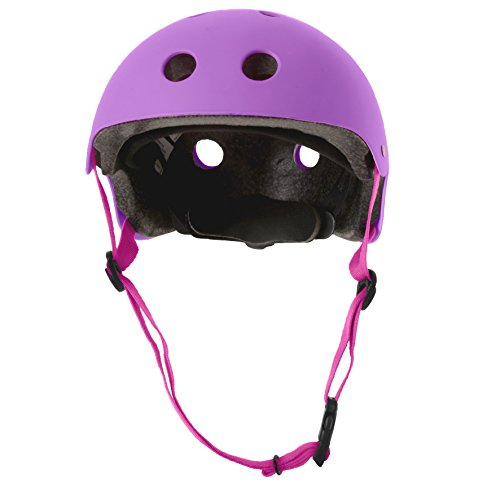 smarTrike Safety Helme Sicherheits, Lila, S(53-55cm)