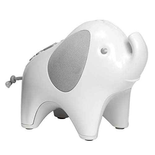 Skip Hop Baby Sound Machine: Moonlight & Melodies Nightlight Soother, Elephant