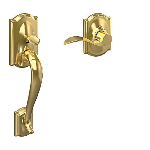 Schlage Lock Company FE285 605 Acc CAM RH Lower Half Handleset, Bright Brass