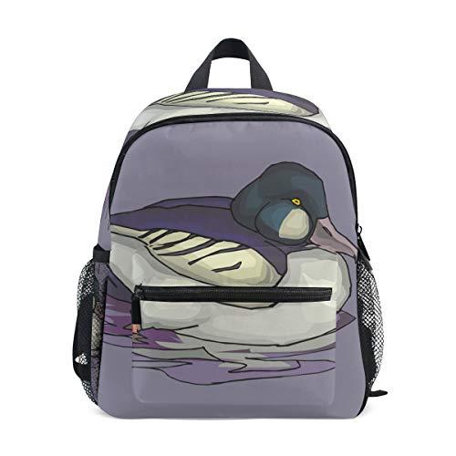 Kleiner Schulranzen Wasservögel Vogel Tier Rucksack für Mädchen Jungen Kinder Mini Reise Tagesrucksack Grundschule Schüler Büchertasche