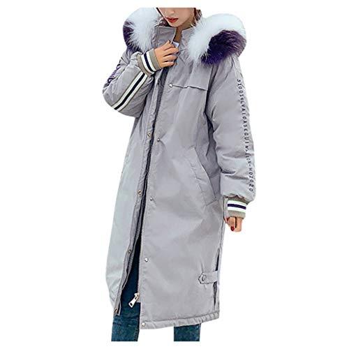 jerferr Damen Jacke Winter Warme Jacke Jacken schlanke Langarm Mäntel