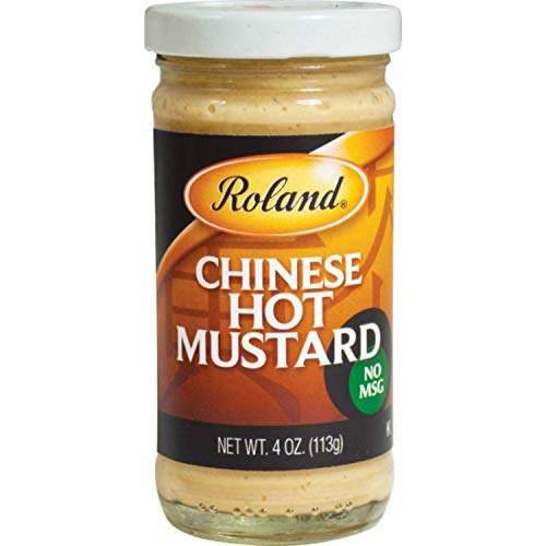 Roland Foods Chinese Hot Mustard, Specialty Imported Food, 4-Ounce Jar