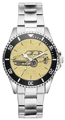 Geschenk für Porsche Turbo 1975-1989 Oldtimer Fans Fahrer Kiesenberg Uhr 6253