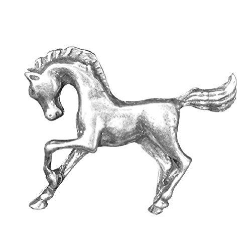 Broche de Caballo, Broche Pasa Fino, Broche Arabe, Hecho a Mano, en Peltre, por William Sturt en Francia