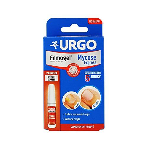 Urgo Mycose Express mit 5 Feilen 4 ml Filmogel Urgo