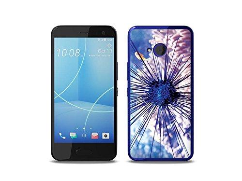 etuo Handyhülle für HTC U11 Life Handyhülle Schutzhülle Etui Hülle Hülle Cover Tasche für Handy Foto Hülle - Seeigel