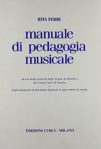 Manuale di pedagogia musicale