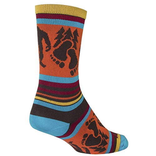 Sockguy Crew Big Footin, Calze Uomo, Multi-Coloured, S/M