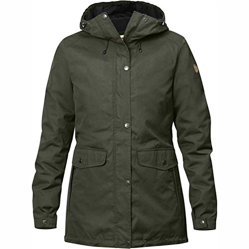 FJÄLLRÄVEN Damen Övik 3 In 1 Parka, Mountain Grey, L