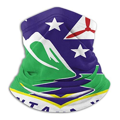 Montana Wing Logo Mikrofaser-Halswärmer, Gesichtsmaske, Bandanas für Staub,...