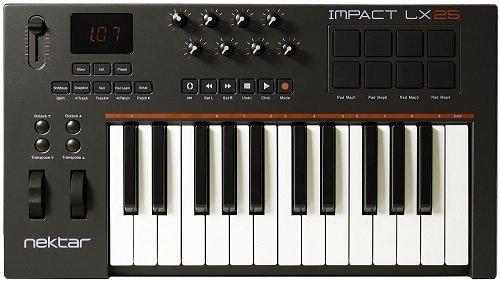 Nektar LX25 MIDI Keyboard