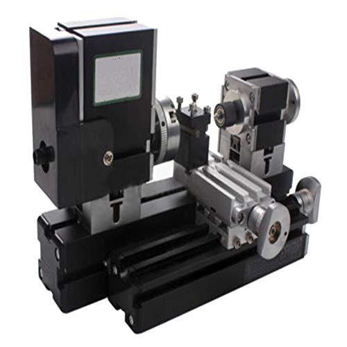 36W Drehmaschine Metalldrehmaschine Mit Digitalanzeige Mini Präzisions 12000 RPM Drehmaschine Precision Mini Metal Lathe Tischdrehmaschine Tischplatte