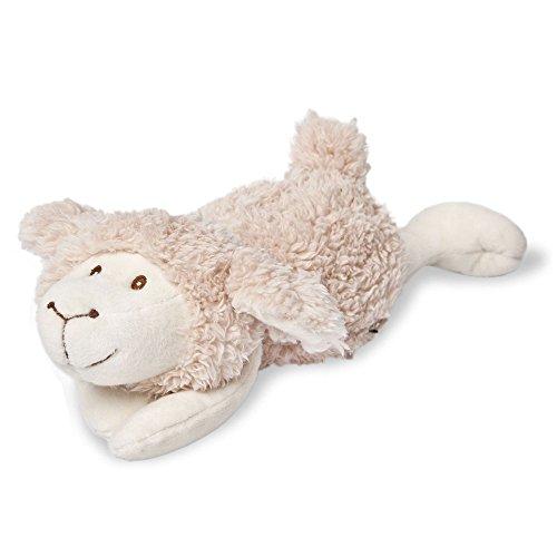 Peluche chauffante Grünspecht - En forme de mouton - Beige