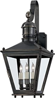 Chart House E.F. Chapman Small Sussex Bracket Lantern in Bronze by Visual Comfort CHO2031BZ