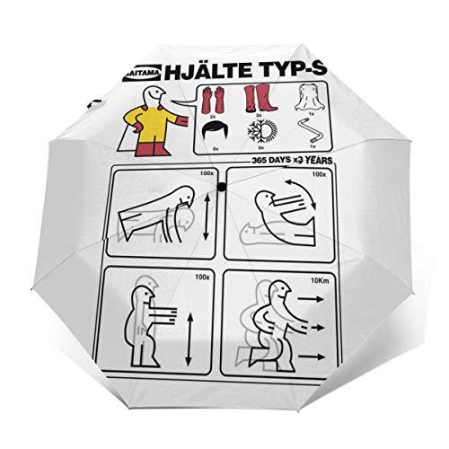 Hero Type S IKEA Regenschirm, Winddicht, kompakt, automatisch, faltbar, faltbar, Reise-Sonnenschirm