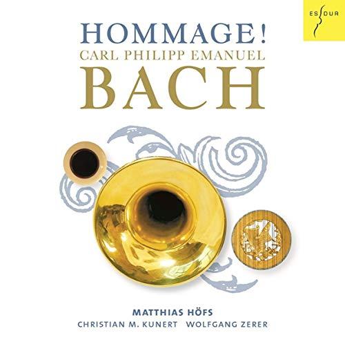 Hommage! - Sonaten (bearb. für Trompete) von C.P.E. Bach