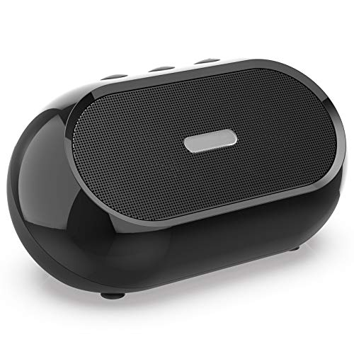 Small USB PC Speakers Mini Computer Speaker for Laptop & Desktop Portable Computer Speakers Small Sound Bar with Higher Quality Sound Louder Volume & Richer Bass – Upgraded with Volume Control