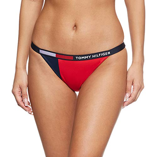 Tommy Hilfiger Damen Bikinihose Marine (300) L