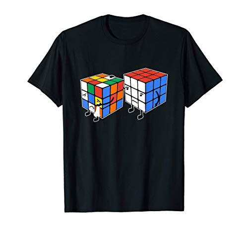 Rubic Rubix Rubik's Magic Cube Couleurs Coloré Graphique Camiseta